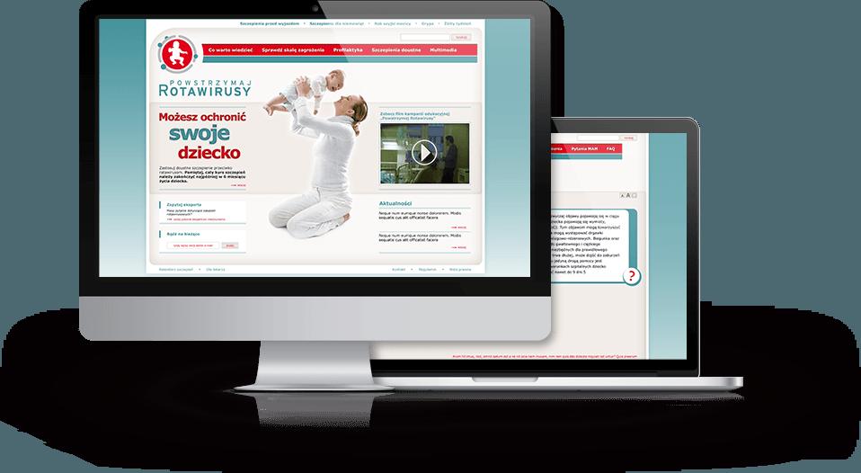 Powstrzymajrotawirusy.pl website